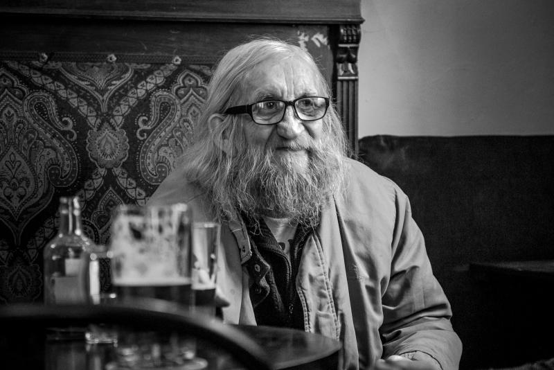 Czech dissident musician Vratislav Brabenec